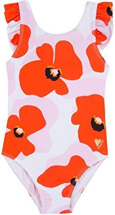 Catimini Girls Bold Poppy One Piece Swimsuit (7)