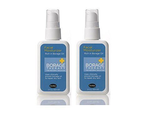 - Shikai Borage Therapy Facial Care Moisturizer With Starflower, Omega-6 Fatty Acid, GLA, and Vitamin E, 3 oz. (Pack of 2)