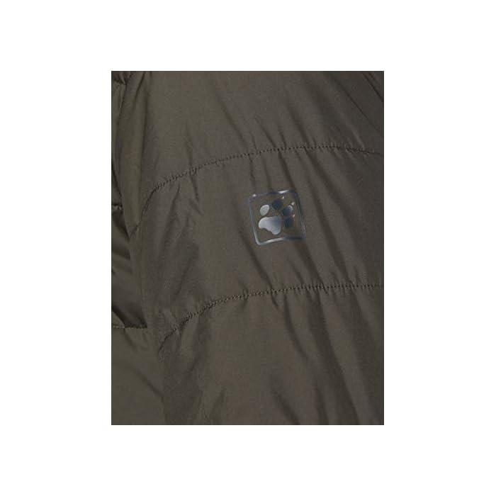 41H5YmSS7GL Abrigo corto acolchado Resistente al viento y al agua 100% Poliéster