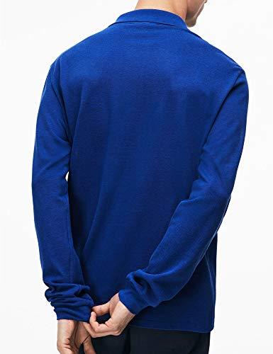 L13 Blue Lacoste Polo Uomo Maniche A Lunghe FWPdq