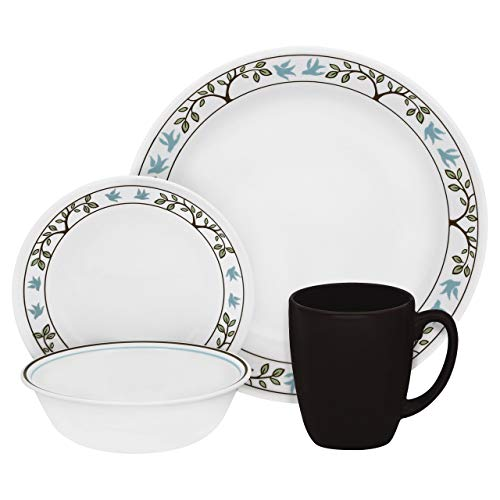 Livingware Tree Bird 16 Piece Dinnerware