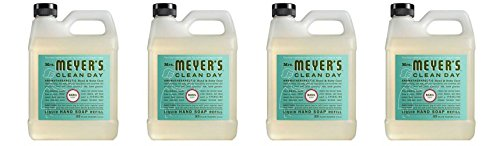 Mrs. Meyers – Liquid Hand Soap Refill, Basil – 33 Ounce
