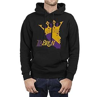 Mens King-Goat-#23-Player Fashion Fleece Black Pullover