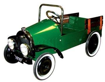 - Charm Co. Pink Jalopy Pedal Car