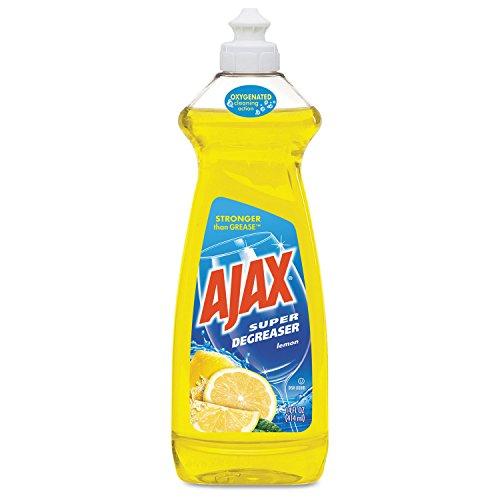 (Ajax 44673 Dish Detergent Lemon Scent 28 oz Bottle 9/Carton )