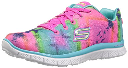 Skechers Kids Girls' Skech Appeal-Groove Thang Sneaker,Multi,