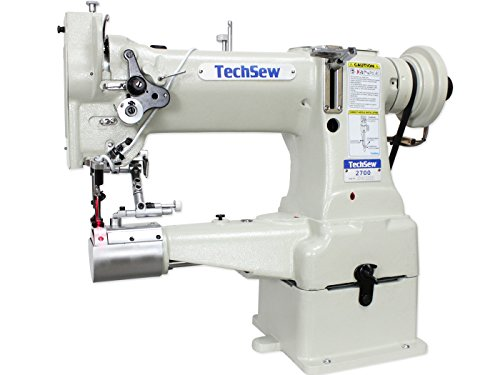 TechSew 2700 Pro Leather Walking Foot Industrial Sewing Machine with Assembled Table & Servo Motor