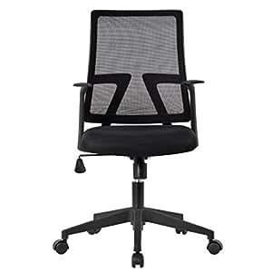 Langria silla de escritorio respaldo ergon mico altura for Altura escritorio ergonomico