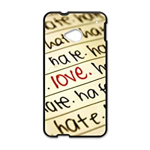 Personalized Creative Cell Phone Case For HTC M7,love painting
