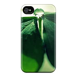 Ideal Whcases Case Cover For Iphone 4/4s(clover Drops), Protective Stylish Case