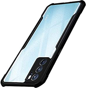 TheGiftKart Shockproof Crystal Clear Oppo Reno 6 Pro 5G Back Cover Case | 360 Degree Protection | Protective Design…