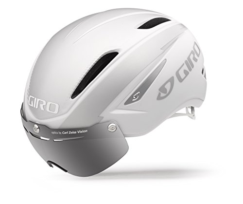 UPC 768686545184, Giro Air Attack Shield Bike Helmet - Matte White/Silver Small
