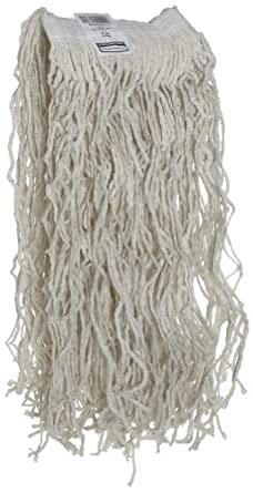"Rubbermaid Economy Cotton Mop, 1"" Headband"