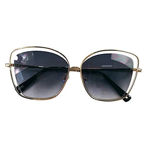 lunettes américaine à de NIFG personnalité européenne de soleil Grandes monture qwn5gCp1