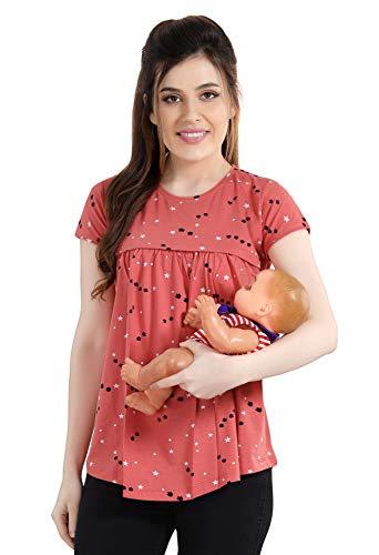 AV2 Printed Women Maternity Feeding Tunic Top 8046