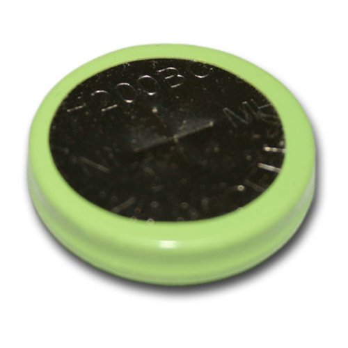 Exell 1.2V 200mAh NiMH Coin Button Rechargeable Battery Flat Top Cell USA SHIP 200 Mah Nickel Metal