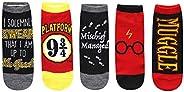 Harry Potter Solemnly Swear Muggle Platform 9 3/4 5 calcetines tobilleros