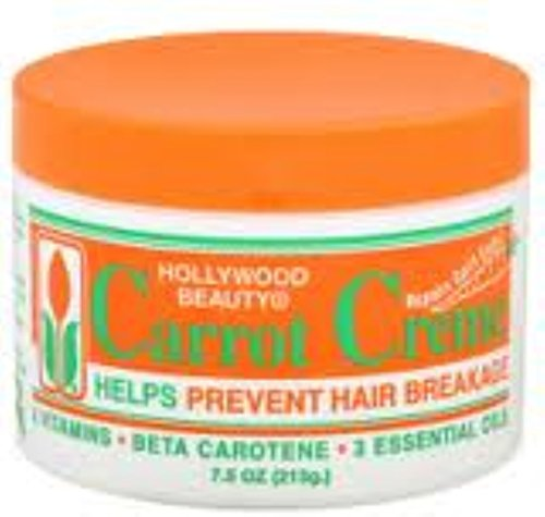 Hollywood Beauty Carrot Creme 7.5 oz Pack of 6