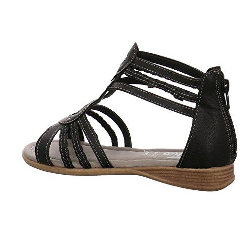 Indigo Schuhe Sandalen - Maedchen Schwarz