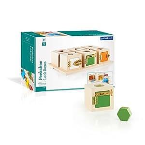 Amazon Com Guidecraft Peekaboo Lock Boxes Set Of 6