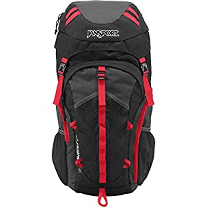 JanSport Unisex Katahdin 40L Greytar/Forgegrey Backpack