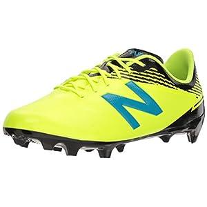 New Balance Men's Furon 3.0 Dispatch FG Soccer Shoe, Hi Lite/Maldives, 7 2E US