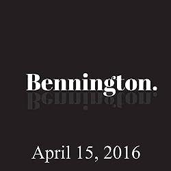 Bennington, April 15, 2016