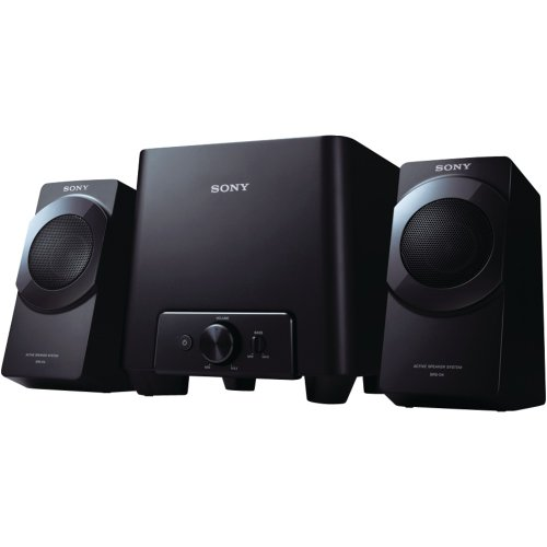 Sony SRSD4 2.1 Desktop Speaker System (Discontinued by Manufacturer)