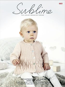 The Sixteenth Little Sublime Hand Knit Book #683 (Baby Cashmere Merino Silk Dk)