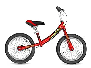 WeeRide Deluxe Balance Bike for 3-6 Years Child, Red