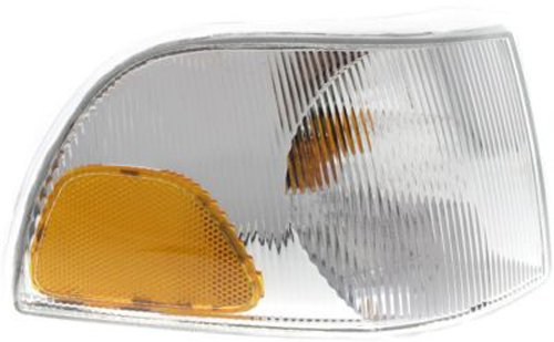 CPP Passenger Side DOT/SAE Compliant Corner Light for Volvo C70, S70, V70 ()