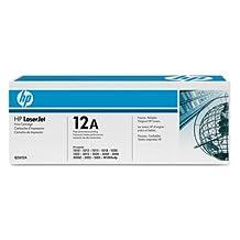 HEWLETT PACKARD HP 12A LJ Print cartg LJ Black Print Cartridge HP LaserJet Ul...