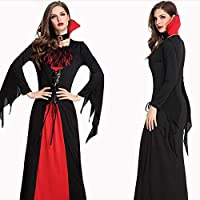 JSSFQK Cosplay Femenino de Vampiros, Disfraces de Halloween for ...