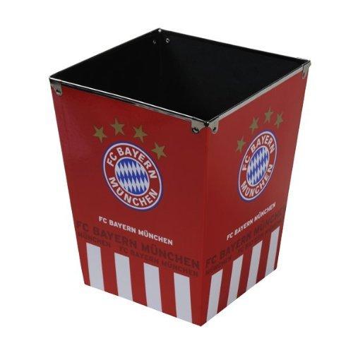 FC Bayern München Papierkorb Logo FCB