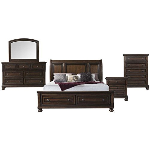 Picket House Furnishings Kingsley 5 Piece Queen Storage Bedroom Set (Furniture Kingsley Bedroom)