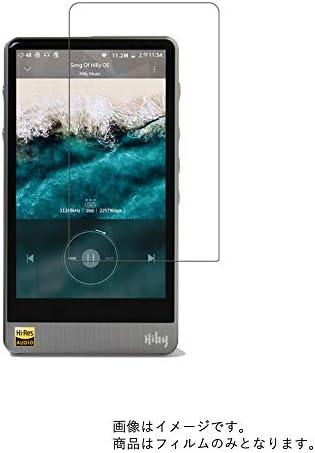 【2枚セット】HiBy R6 Pro 用 液晶保護フィルム 防指紋(クリア)タイプ