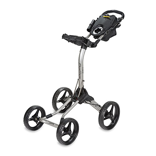 Bag Boy Quad XL Push Cart Silver/Black Quad XL Push Cart