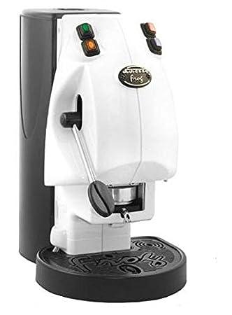 "Máquina de café ""Frog revolution"", color blanco, modelo NO vapor monodosis"