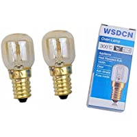 2 Pack, Fulfilled By Amazon, WSDCN Compatible Bulb for Whirlpool Kitchen Aid Oven Light Bulb 4173175