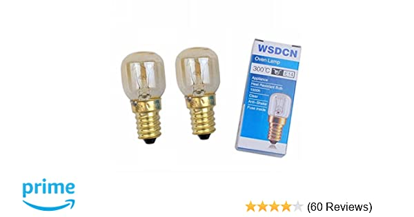 Amazon.com: 2 Pack, Fulfilled By Amazon, WSDCN Compatible Bulb for Whirlpool Kitchen Aid Oven Light Bulb 4173175: Home Improvement