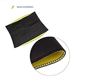 8a36355117 Image Unavailable. Image not available for. Colour  Vansh Unisex Neoprene  Body Hot Shaper for Waist Fitness Belt ...