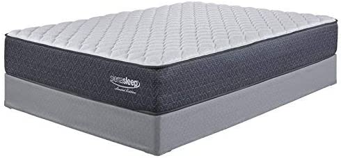 Ashley Furniture Signature Design – Sierra Sleep – Limited Edition Firm Mattress – Traditional Inner Spring Twin Size Mattress – White