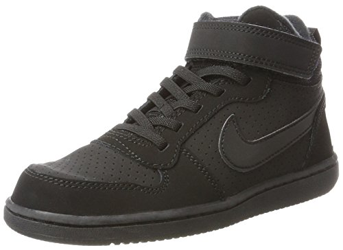 Hautes Hautes Hautes Nike black psv psv psv psv On Gar Baskets Mid Borough Court Noir qqxXHT