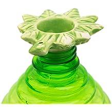 Bottletop Ceramic Filter. Pack of 2 Green Leaf Cap.