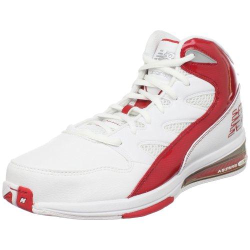 New Balance - - Herren-Basketball-Schuhe 891 White with Red