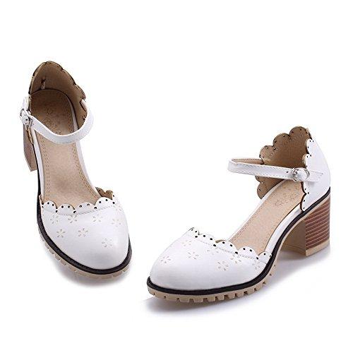 5 Femme Blanc Sandales BalaMasa ASL05245 36 Blanc Compensées qF6fa8