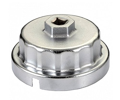 """Toyota Lexus Oil Filter Wrench 6 & 8 Cylinder Engines -Super Strong Aluminum Alloy For Tough To Loosen Oil Filters -Fits 3/8"""" & 1/2"""" Drive - Fits all Toy/Lex 3.5 ltr V6 2007-Current & Some V8s"""