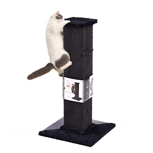 "PAWZ Road 32"" Cat Scratching Post,Kitten Scratch Toy Climbing Sisal Scratcher with Dangling Toy"