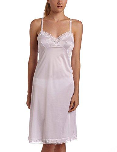 10103 36 26 White Vanity Fair Lace Trimmed Full Slip