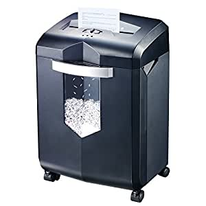 Bonsaii EverShred C149-C 18-Sheet Cross-cut Paper Shredder with 60 Minutes Running Time, 6 Gallon Wastebasket Capacity and 4 Casters
